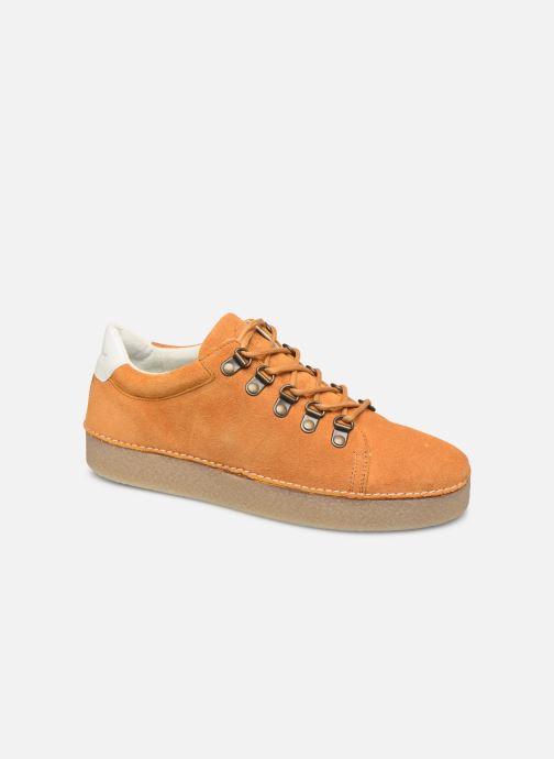 Snøresko Kickers SPRITE Gul detaljeret billede af skoene