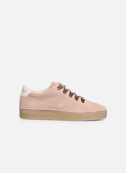 Zapatos con cordones Kickers SPRITE Rosa vistra trasera
