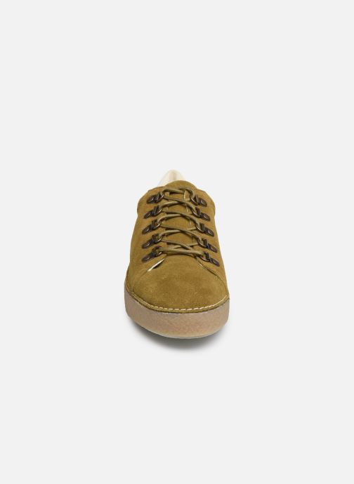 Chaussures à lacets Kickers SPRITE Vert vue portées chaussures