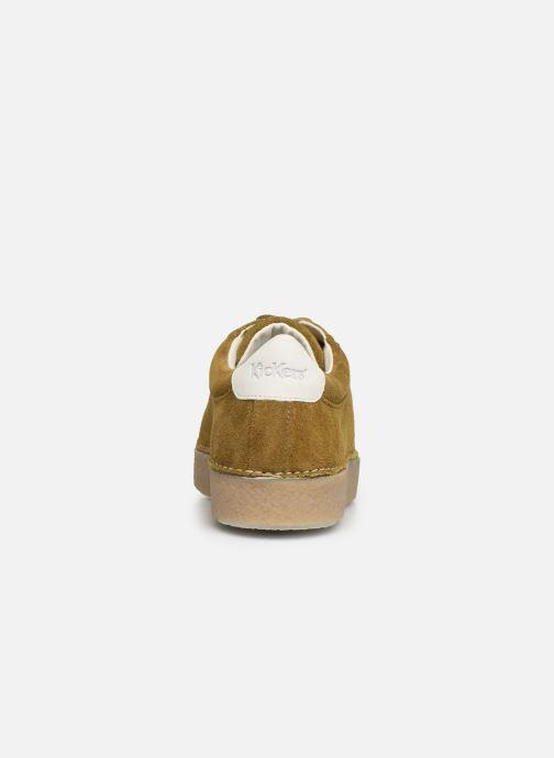 Chaussures à lacets Kickers SPRITE Vert vue droite