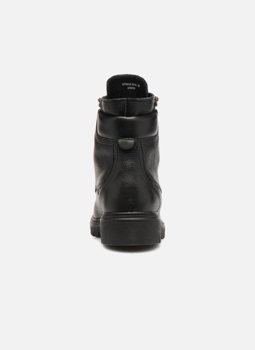 Bottines et boots Kickers ISERANE Noir vue droite