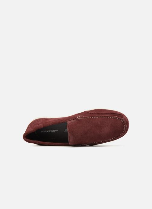 Loafers Rockport Bennett Lane 4 Burgundy view from the left