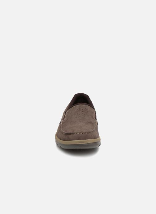 Baskets Rockport Get Your Kicks Marron vue portées chaussures