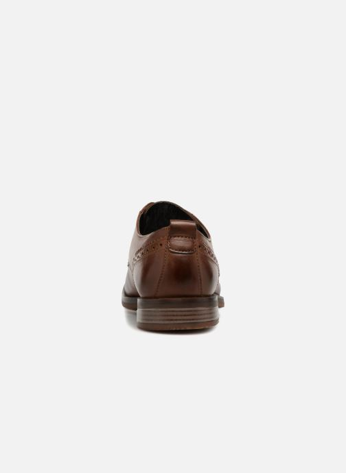 Chaussures à lacets Rockport Wynstin Apron Marron vue droite
