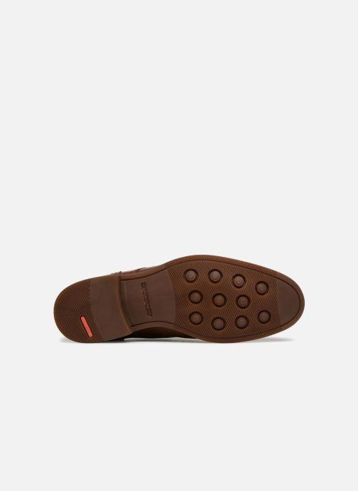 Chaussures à lacets Rockport Wynstin Apron Marron vue haut