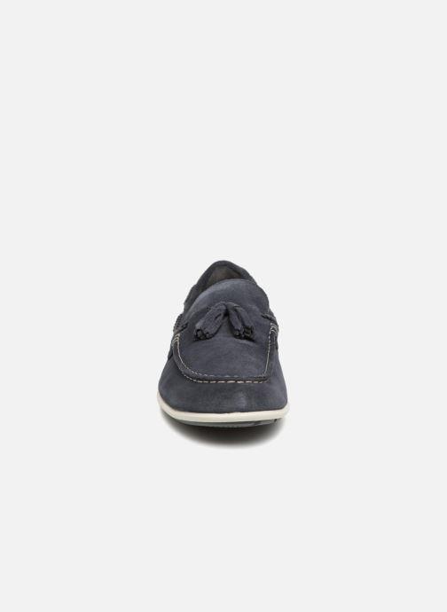 Mocassins Rockport Bennett Lane 4 Tassel Bleu vue portées chaussures