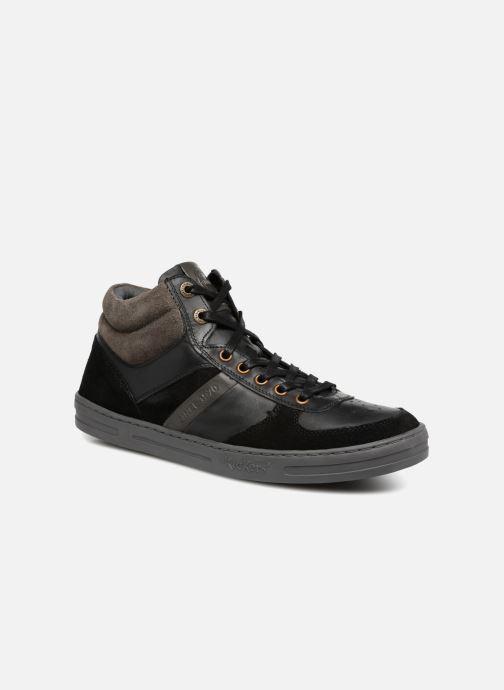 Baskets Kickers JOEY Noir vue détail/paire