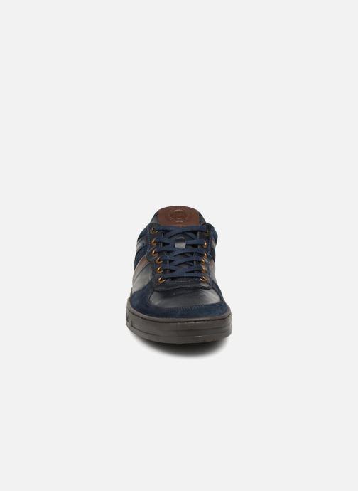 Baskets Kickers APON Bleu vue portées chaussures