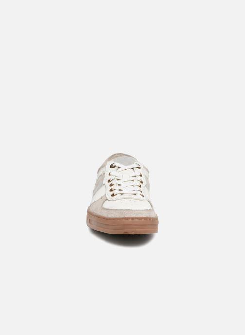 Baskets Kickers APON Blanc vue portées chaussures