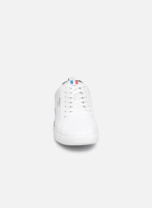 Baskets Kickers TAMPA Blanc vue portées chaussures