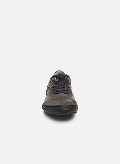 Baskets Kickers JEXPLORE M Gris vue portées chaussures