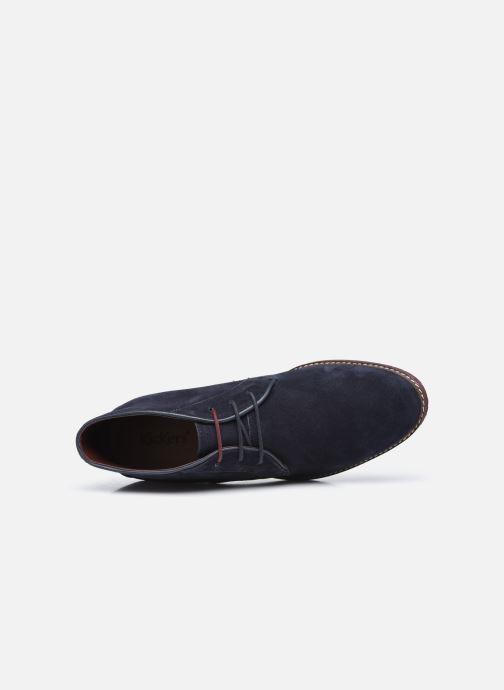 Boots en enkellaarsjes Kickers MATADOR Blauw links