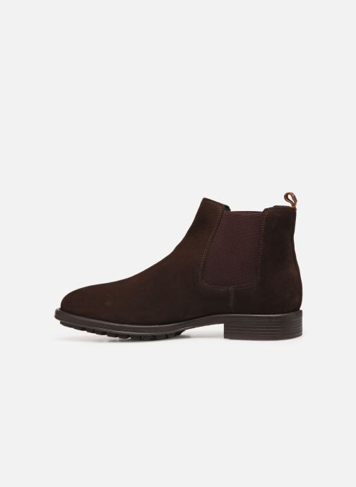 Bottines et boots Kickers BROMER Marron vue face