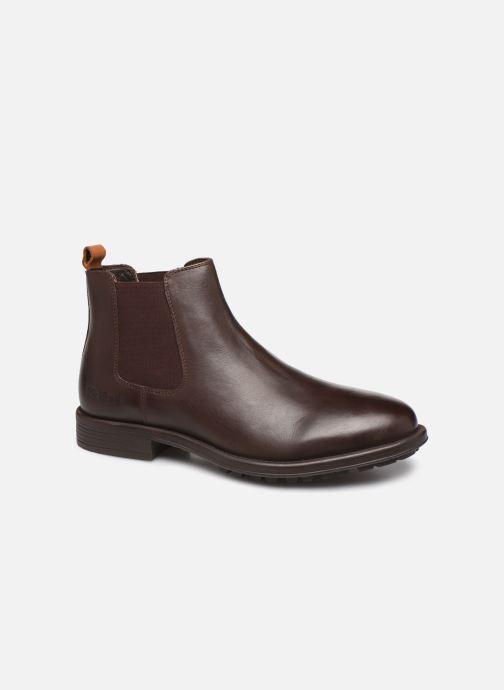 Bottines et boots Kickers BROMER Marron vue détail/paire