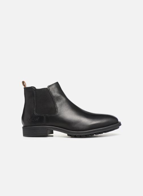 Boots en enkellaarsjes Kickers BROMER Zwart achterkant