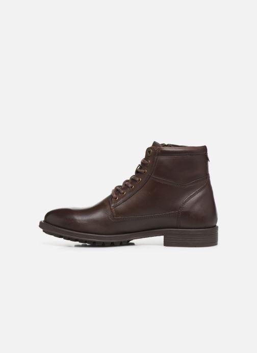 Bottines et boots Kickers BROK Marron vue face