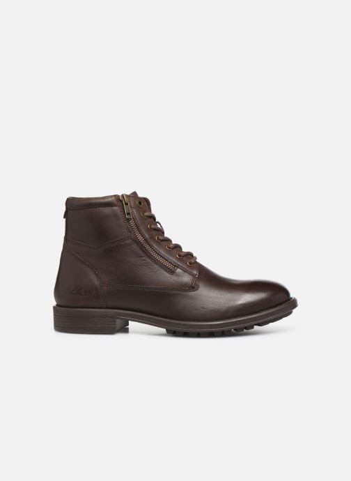 Bottines et boots Kickers BROK Marron vue derrière