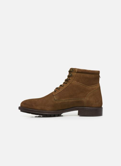 Bottines et boots Kickers BROK Marron vue face