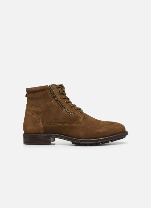 Stiefeletten & Boots Kickers BROK braun ansicht von hinten