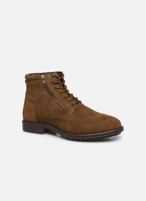 Ankelstøvler Kickers BROK Brun detaljeret billede af skoene