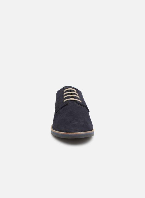 Zapatos con cordones Kickers ELDAN M Azul vista del modelo