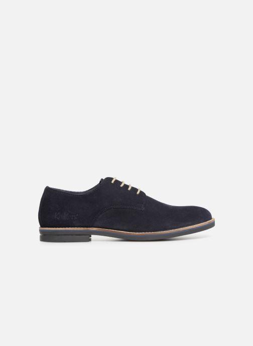 Zapatos con cordones Kickers ELDAN M Azul vistra trasera