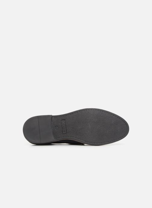 Zapatos con cordones Kickers ELDAN M Azul vista de arriba