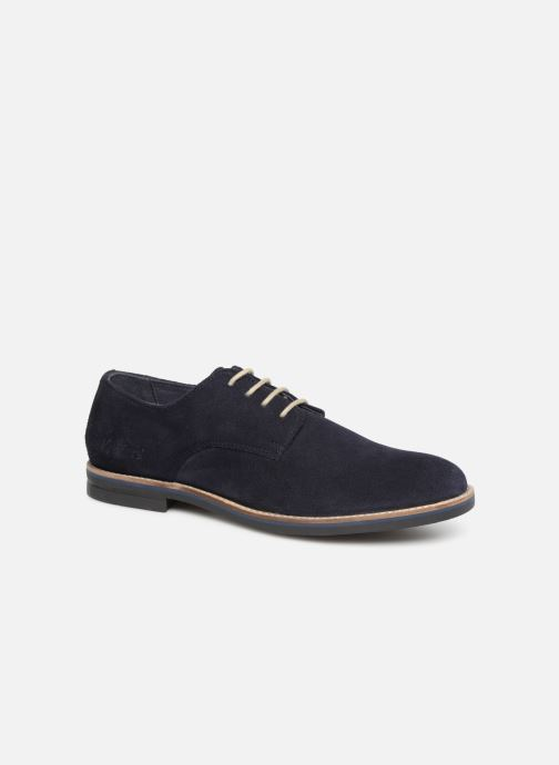 Zapatos con cordones Kickers ELDAN M Azul vista de detalle / par