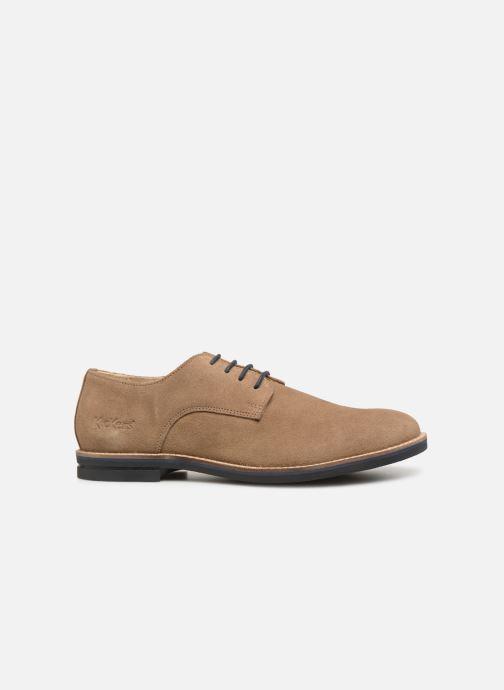 Chaussures à lacets Kickers ELDAN M Beige vue derrière