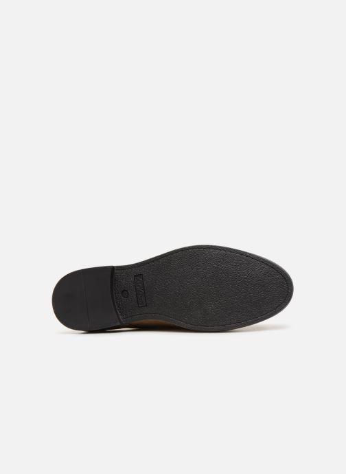 Chaussures à lacets Kickers ELDAN M Beige vue haut