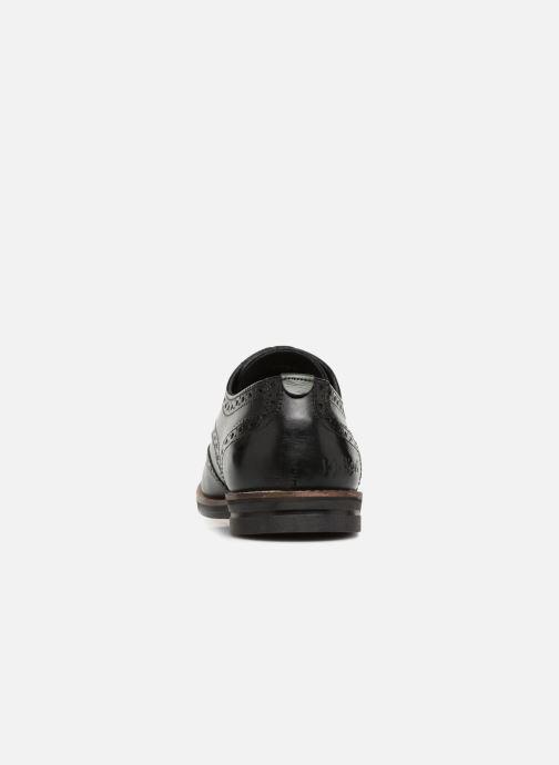 Zapatos con cordones Kickers ELDYS Negro vista lateral derecha