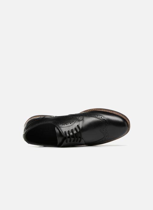 Zapatos con cordones Kickers ELDYS Negro vista lateral izquierda