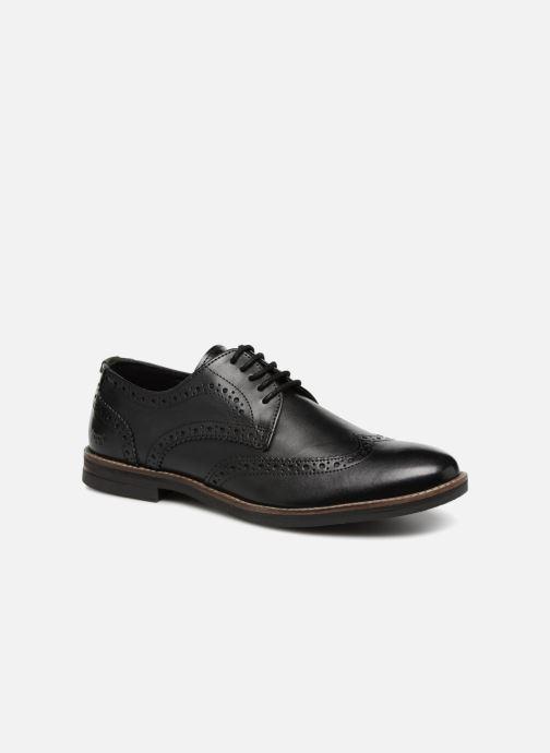 Zapatos con cordones Kickers ELDYS Negro vista de detalle / par