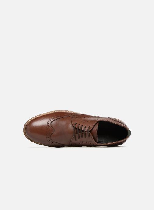 Zapatos con cordones Kickers ELDYS Marrón vista lateral izquierda