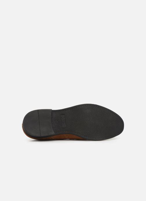 Chaussures à lacets Kickers ELDYS Marron vue haut