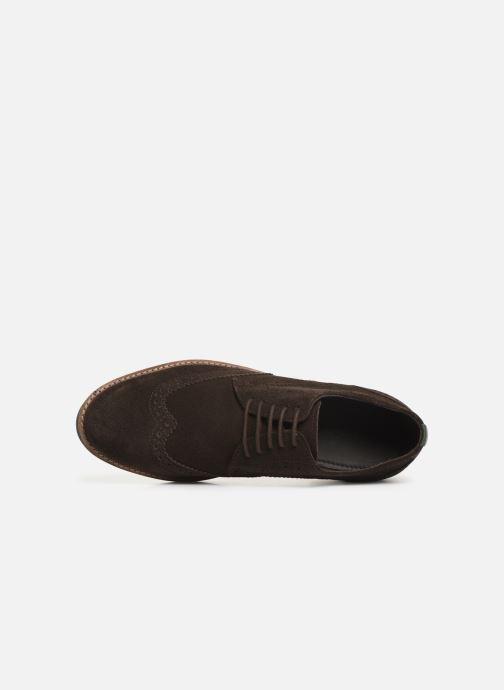 Chaussures à lacets Kickers ELDYS Marron vue gauche