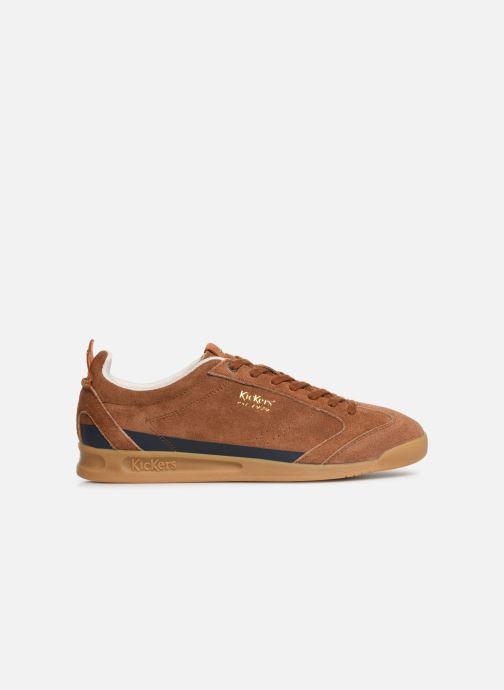 Sneaker Kickers KICK 18 M braun ansicht von hinten