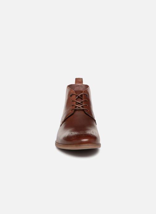 Bottines et boots Kickers TAROT Marron vue portées chaussures