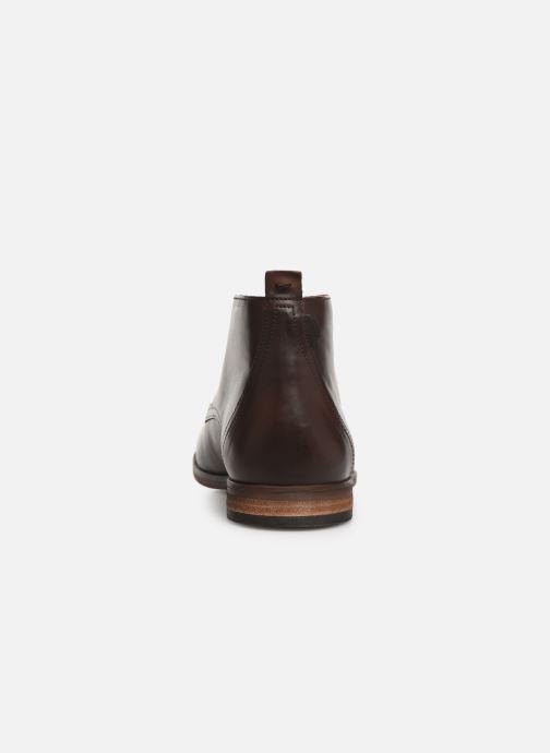 Boots en enkellaarsjes Kickers TAROT Bruin rechts
