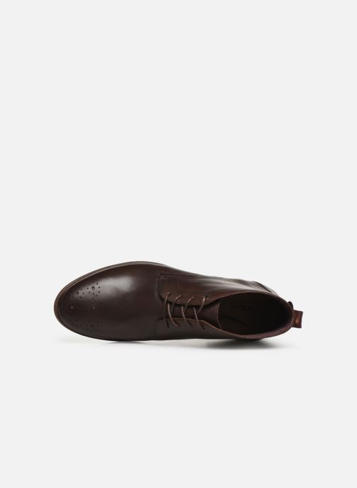 Boots en enkellaarsjes Kickers TAROT Bruin links