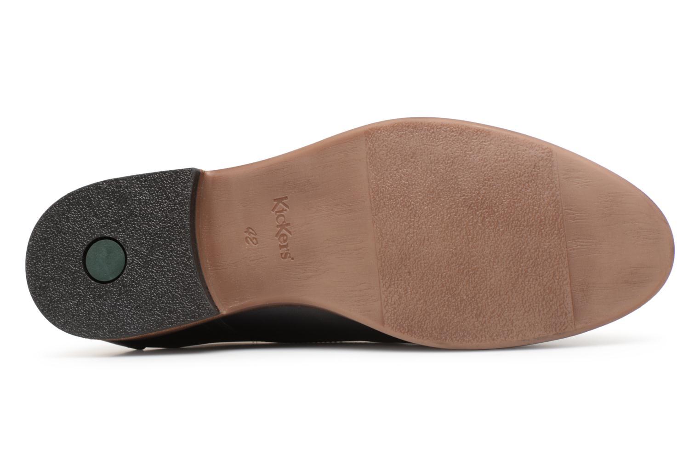 Stiefeletten & Boots Kickers TAROT schwarz ansicht von oben