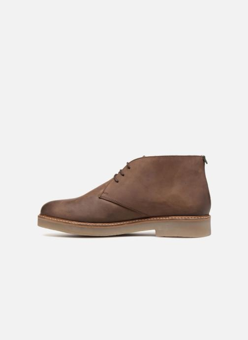 Boots en enkellaarsjes Kickers OXFLY Bruin voorkant