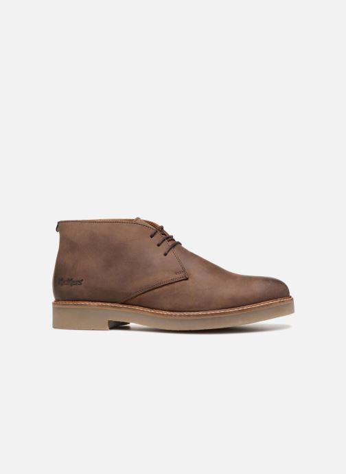 Boots en enkellaarsjes Kickers OXFLY Bruin achterkant