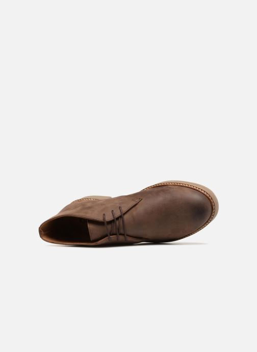 Boots en enkellaarsjes Kickers OXFLY Bruin links
