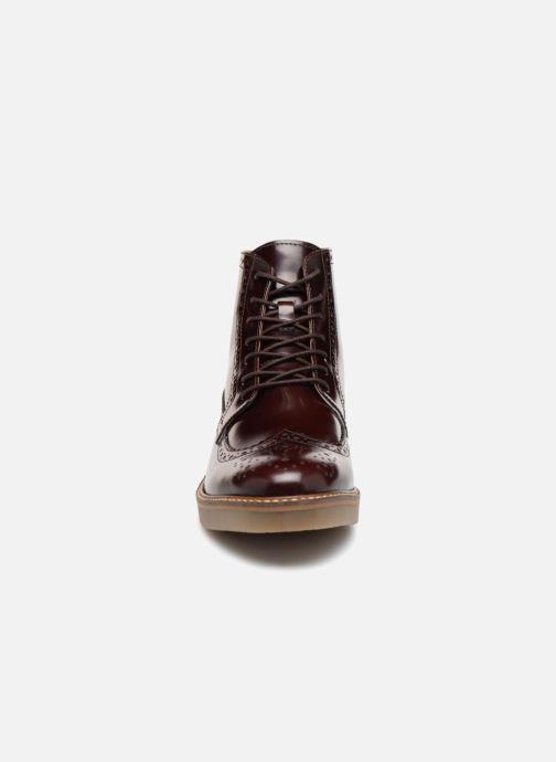 Bottines et boots Kickers OXIMO Bordeaux vue portées chaussures