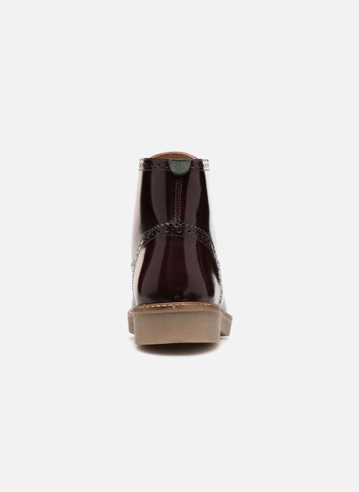 Bottines et boots Kickers OXIMO Bordeaux vue droite