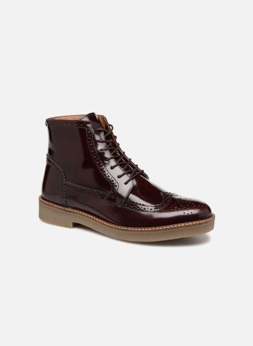 Bottines et boots Kickers OXIMO Bordeaux vue détail/paire