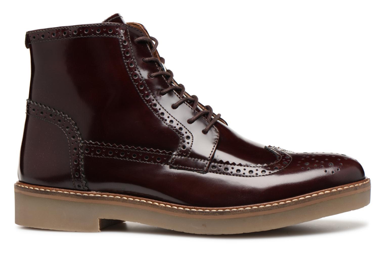 Bottines et boots Kickers OXIMO Bordeaux vue derrière