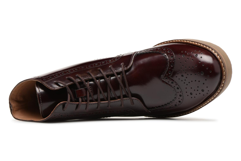 Bottines et boots Kickers OXIMO Bordeaux vue gauche