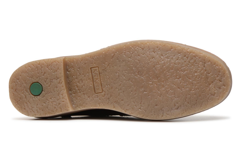 Bottines et boots Kickers OXIMO Bordeaux vue haut